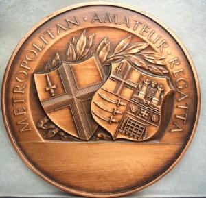 Medal from Met regatta